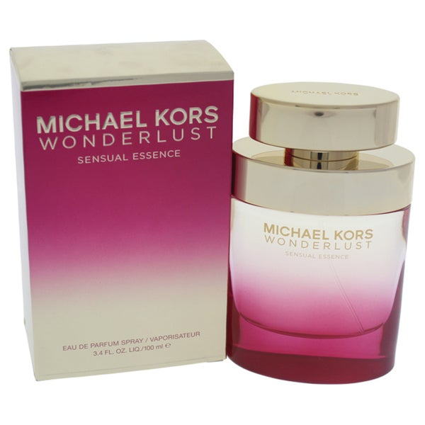 b6d7108c36de Shop Michael Kors Wonderlust Sensual Essence Women s 3.4-ounce Eau de Parfum  Spray - Free Shipping Today - Overstock - 18272707