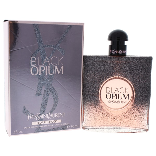 Yves Saint Laurent Black Opium Floral Shock Women's 3-ounce Eau de Parfum Spray