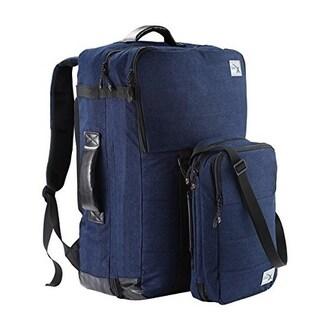 Cabin Max Nettuno Denim Duo Hand Luggage Backpack & Stowaway Set Suitable for Ryanair