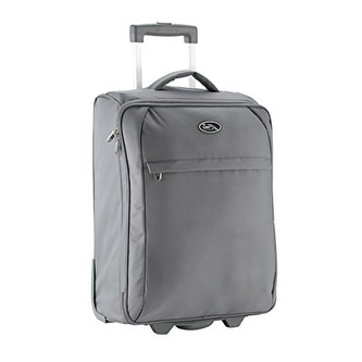 Palma Lightweight Trolley Cabin Luggage Suitcase 55 X 40 20