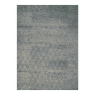 Handmade Herat Oriental Indo Hand-knotted Moroccan Wool Area Rug (10' x 14') - 10' x 14'