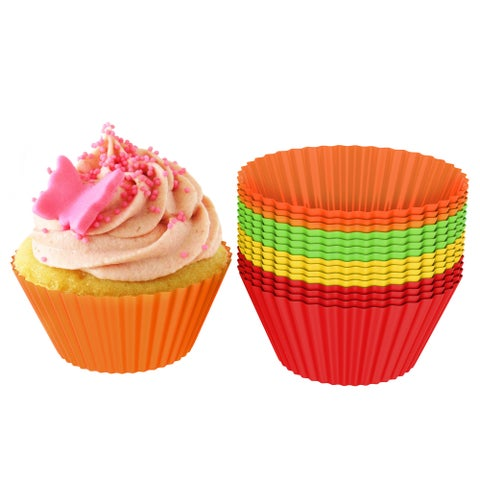 Chef Buddy Silicone Baking Cups/Cupcake Liners