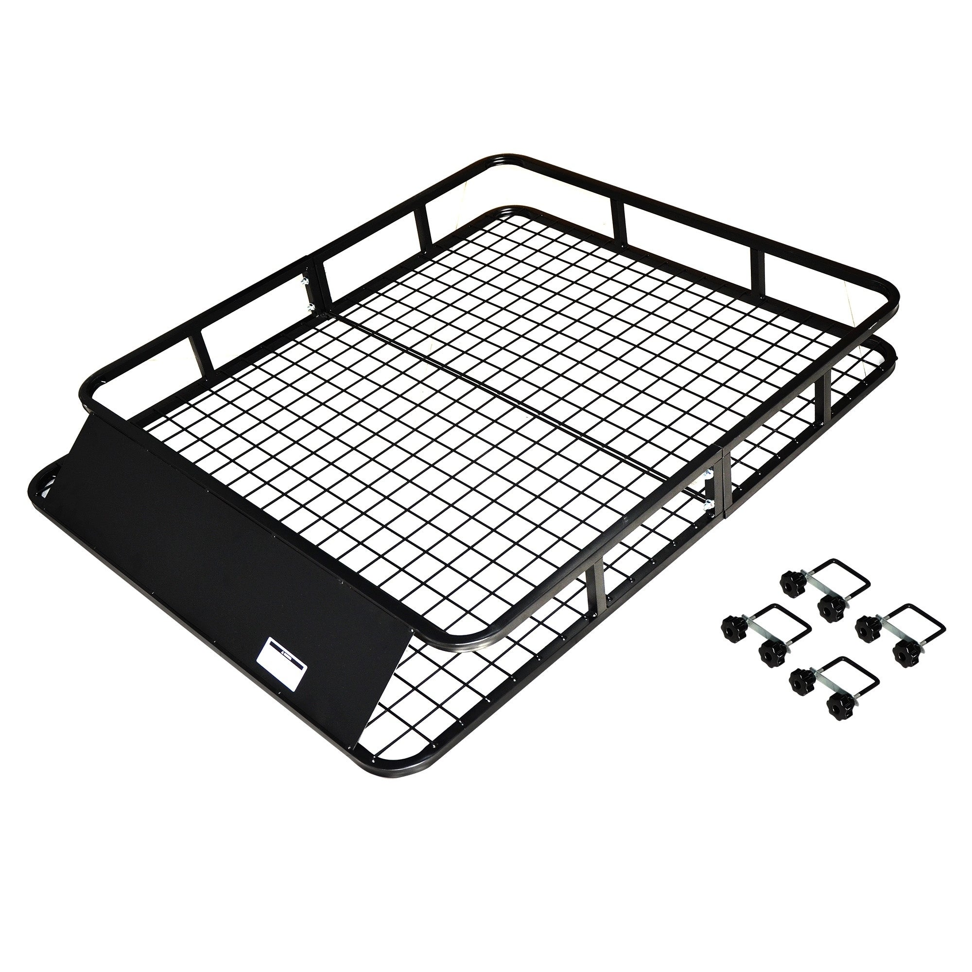 Max Load Steel (Silver) Roof Cargo Basket