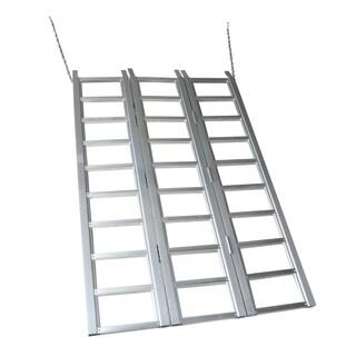 Max Load 69in x 45in Aluminum Tri Fold Ramp