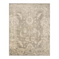 Handmade Herat Oriental Indo Hand-knotted Moroccan Overdye Wool Area Rug - 7'9 x 9'9 (India)