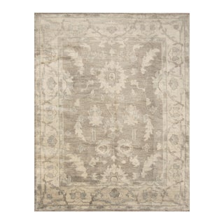 Handmade Herat Oriental Indo Hand-knotted Moroccan Overdye Wool Area Rug (India) - 7'9 x 9'9