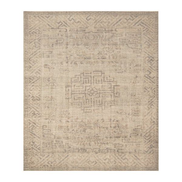 Handmade Herat Oriental Indo Hand-knotted Moroccan Overdye Wool Area Rug - 8' x 9'7
