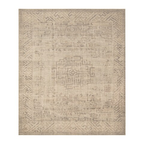 Handmade Herat Oriental Indo Hand-knotted Moroccan Overdye Wool Area Rug - 8' x 9'7 (India)