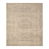 Handmade Herat Oriental Indo Hand-knotted Moroccan Overdye Wool Area Rug (India) - 8' x 9'7