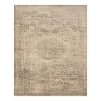 Handmade Herat Oriental Indo Hand-knotted Moroccan Overdye Wool Area Rug - 7'5 x 9'9 (India)