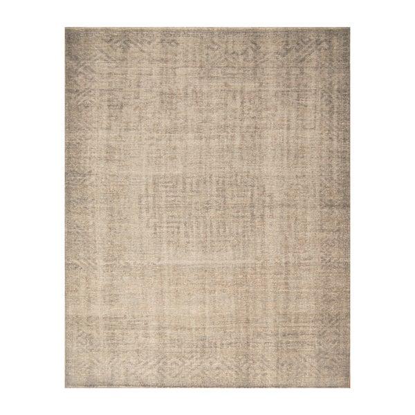 Handmade Herat Oriental Indo Hand-knotted Moroccan Overdye Wool Area Rug (7'10 x 9'9)