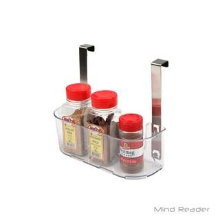 Mind Reader Acrylic Storage Shelf with Hooks