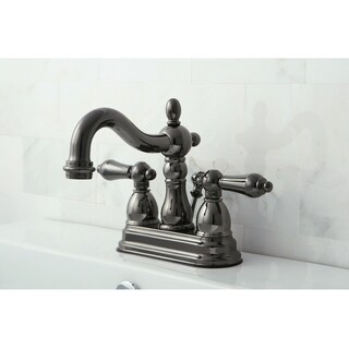 Shop Victorian High Spout Vintage Brass Bathroom Faucet