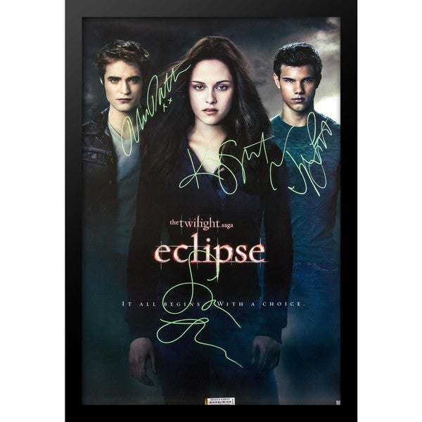 Shop The Twilight Saga  Eclipse - Signed Movie Poster - On Sale - Free  Shipping Today - Overstock - 18273618 becab69db86c
