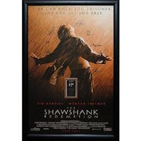 The Shawshank Redemption - Signed Movie Poster