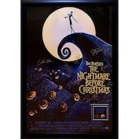 The Nightmare Before Christmas - Signed Movie Poster