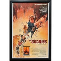 The Goonies - Signed Movie Poster