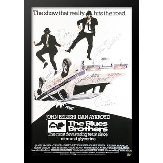 The Blues Brothers - Signed Movie Poster