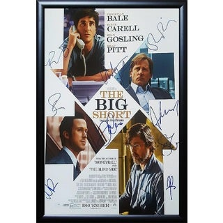 The Big Short -  Signed Movie Poster