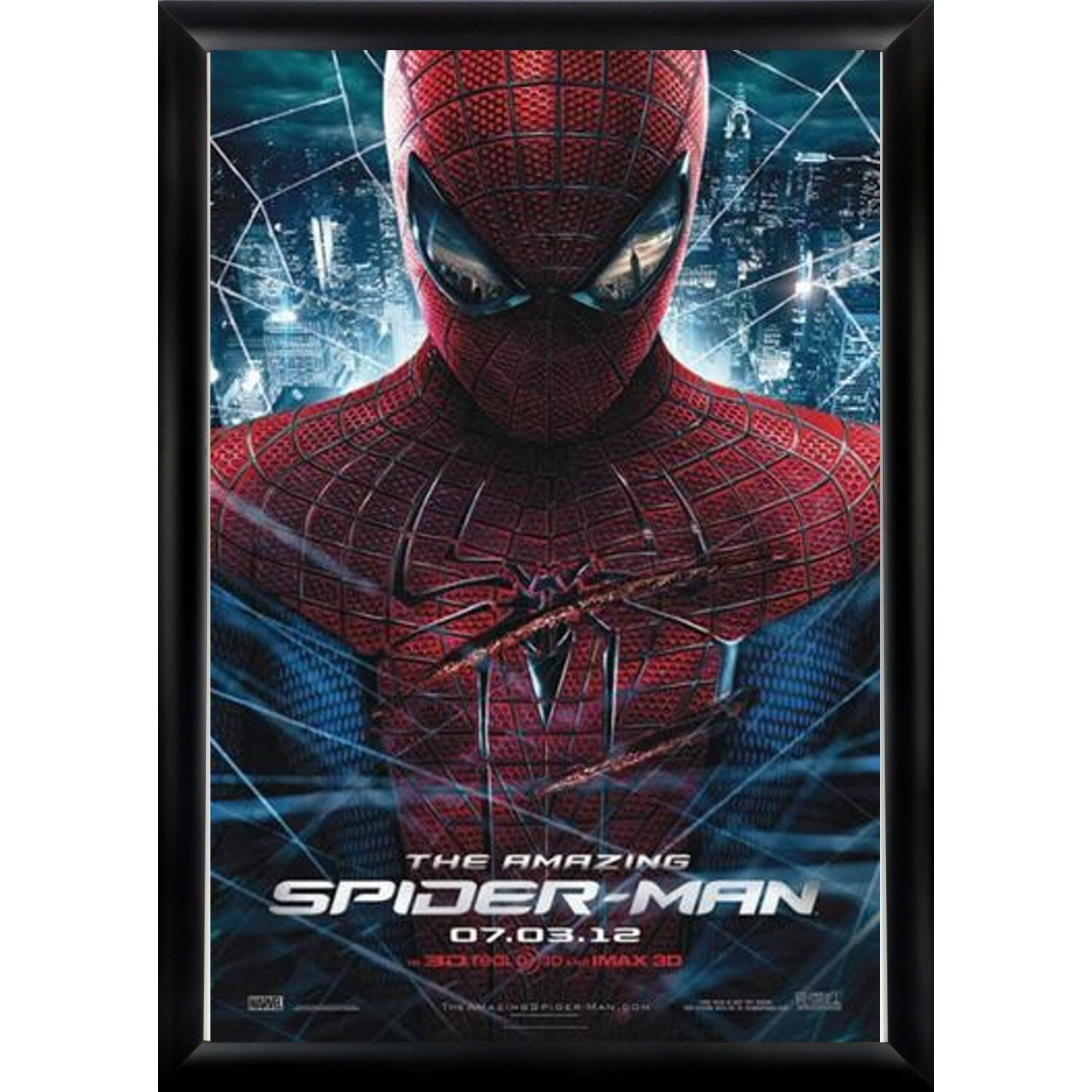 Luxe The Amazing Spider man - Signed Movie Poster (Black)...