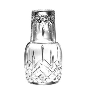 Majestic Gifts Cut Crystal  Bedside Water Carafe Set