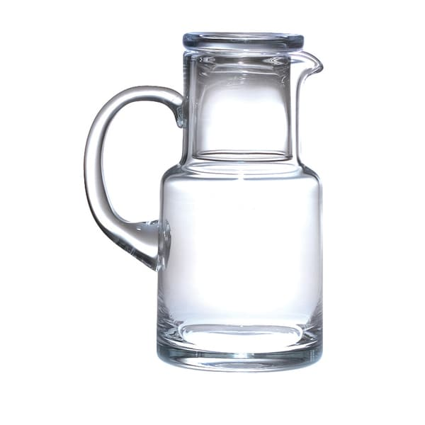 Majestic Gifts Glass Bedside Water Carafe Set with Handle. Opens flyout.