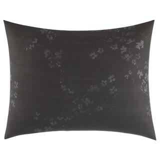 Vera Wang Charcoal Floral Standard Sham
