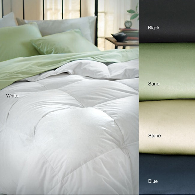 Elementa Sateen Hi-loft 300 Thread Count Down Alternative Comforter