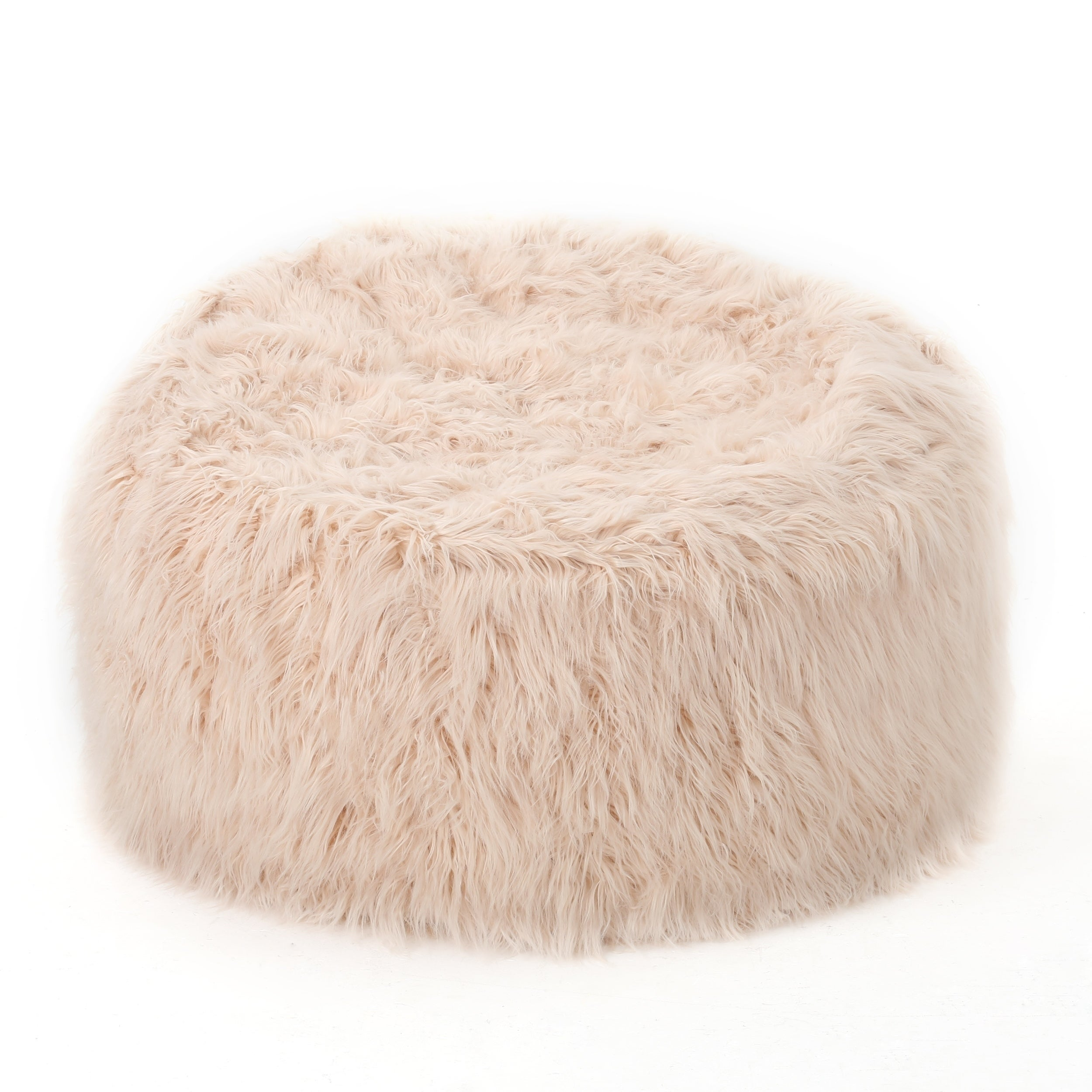 Fine Details About Lachlan Faux Furry Bean Bag By Christopher Knight Home Machost Co Dining Chair Design Ideas Machostcouk