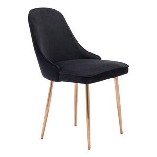 Merritt Dining Chair Black Velvet