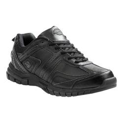Men's Dickies Vanquish Slip-Resistant Safety Work Sneaker Black Leather
