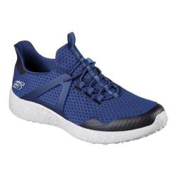 Men's Skechers Burst Shinz Bungee Lace Shoe Navy