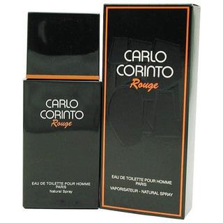 Carlo Corinto Rouge Eau de Toilette Spray 3.4-ounce for Men