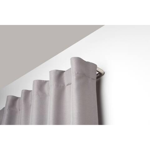 Umbra Twilight Room-Darkening Double Curtain Rod