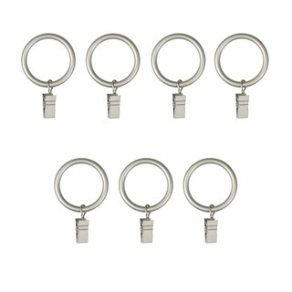 Umbra Large Clip Rings for Curtain Panels (Set of 7) - 1 inch diameter