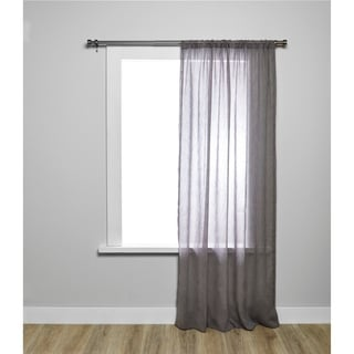 Umbra Holloway Linen-Look Curtain Panel, 54 x 84-Inch