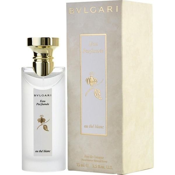 Bvlgari Eau Parfumee Au the Blanc Unisex 2.5-ounce Eau de Cologne Spray