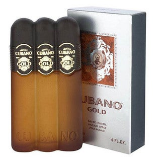 Cubano Gold Men's 4-ounce Eau de Toilette Spray