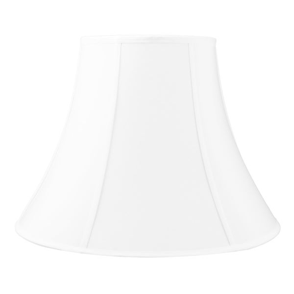 10x20x15 White Bell Shantung Shade