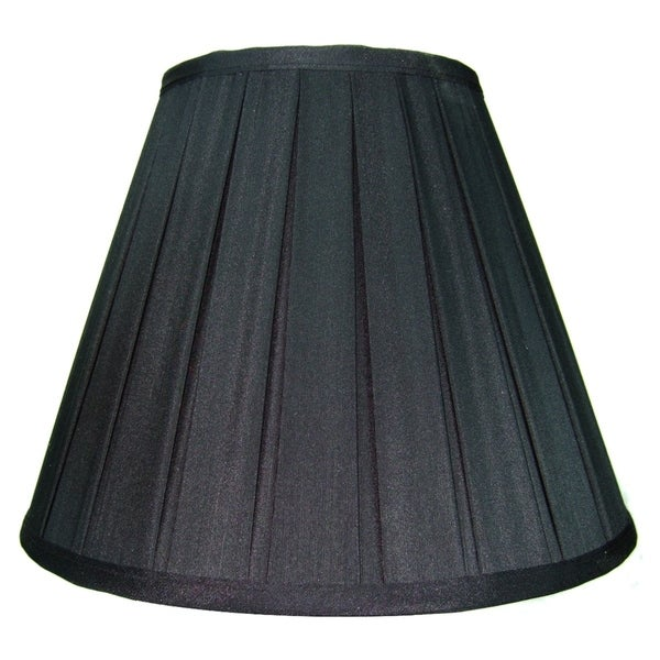 6x12x9 Black Empire Lampshade with Gold Liner