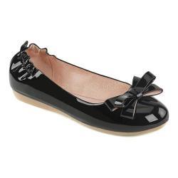 Women's Pin Up Olive 03 Foldable Flat Black Patent