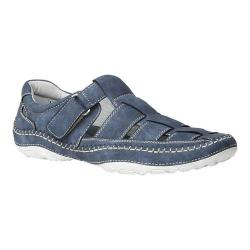Men's GBX Sentaur Fisherman Sandal Denim Wash Faux Leather (More options available)