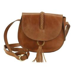 Women's Hadaki by Kalencom Ring Saddle Bag Distressed Sand