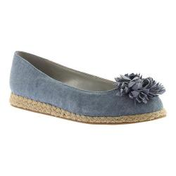 Women's Bandolino Blondelle Espadrille Denim Fabric