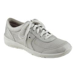 Women's Easy Spirit Gogo Sneaker Silver/Silver Synthetic/Fabric