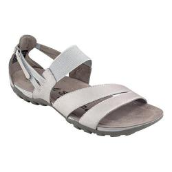 Women's Easy Spirit Mesaa Sandal Light Grey Leather