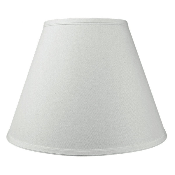 8x16x12 Hard Back Empire Lampshade White