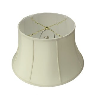 13x19x11 Egg Shell Floor Shantung Lampshade