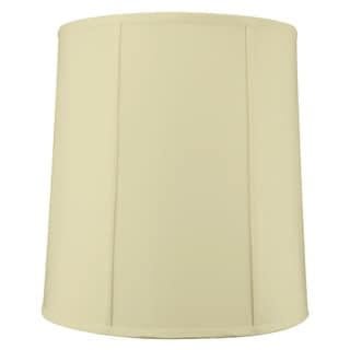 14x16x17 Egg Shell Shantung Drum Lampshade