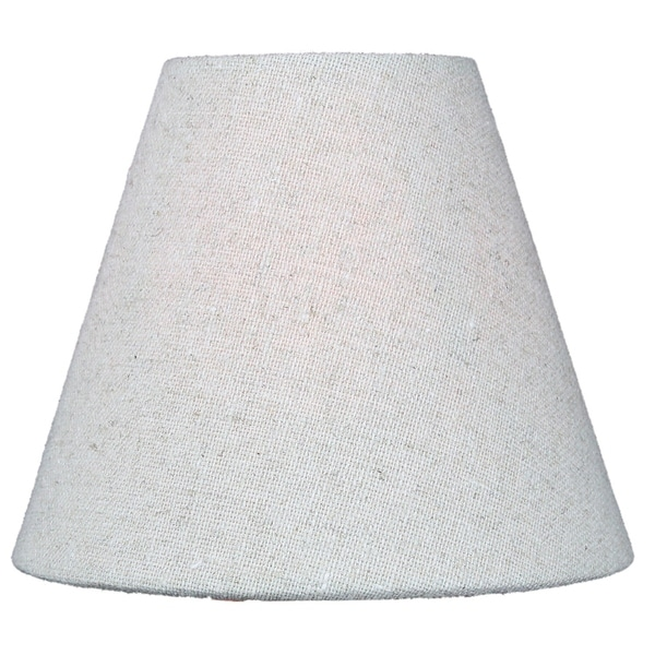 Chandelier Sand Linen Clip-On Lampshade 3 x 6 x 5. Opens flyout.